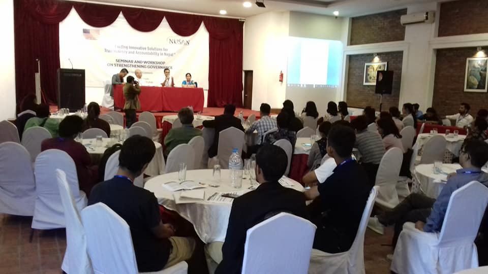 Accountability and Tranparency in State and Local Government April 2018 Seminar on strengthening accountability and transparency in Nepal Provided by Rewati Dakhal