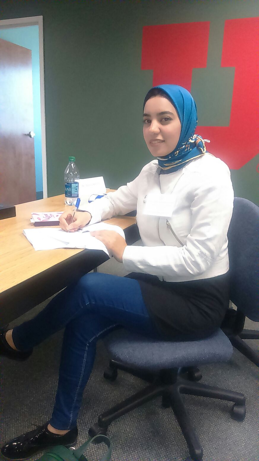 Civic Engagement September 2017 Raghda at University of Utah Utah Council for Citizen Diplomacy
