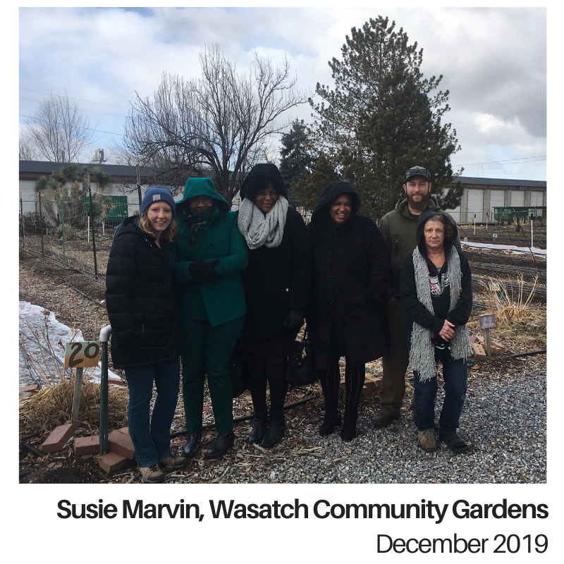 Susie Marvin Wasatch Community Gardens Utah Council for Citizen Diplomacy