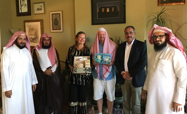 Saudi Arabia September 2017 Taste of Home Hospitality photo by Cynthia Douglass Utah Council for Citizen Diplomacy