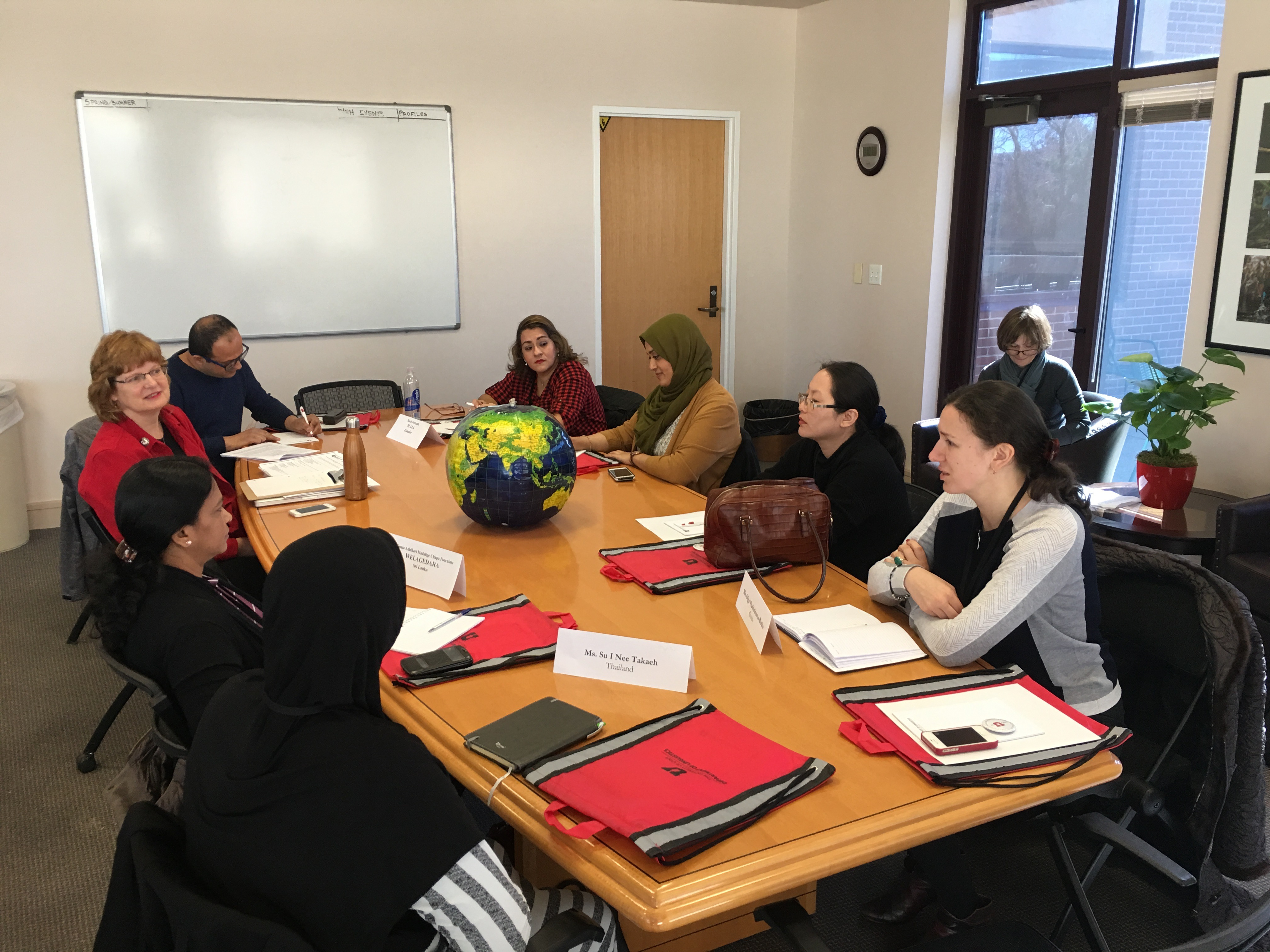 U of U American Language March 2017 photo by FMB Utah Council for Citizen Diplomacy