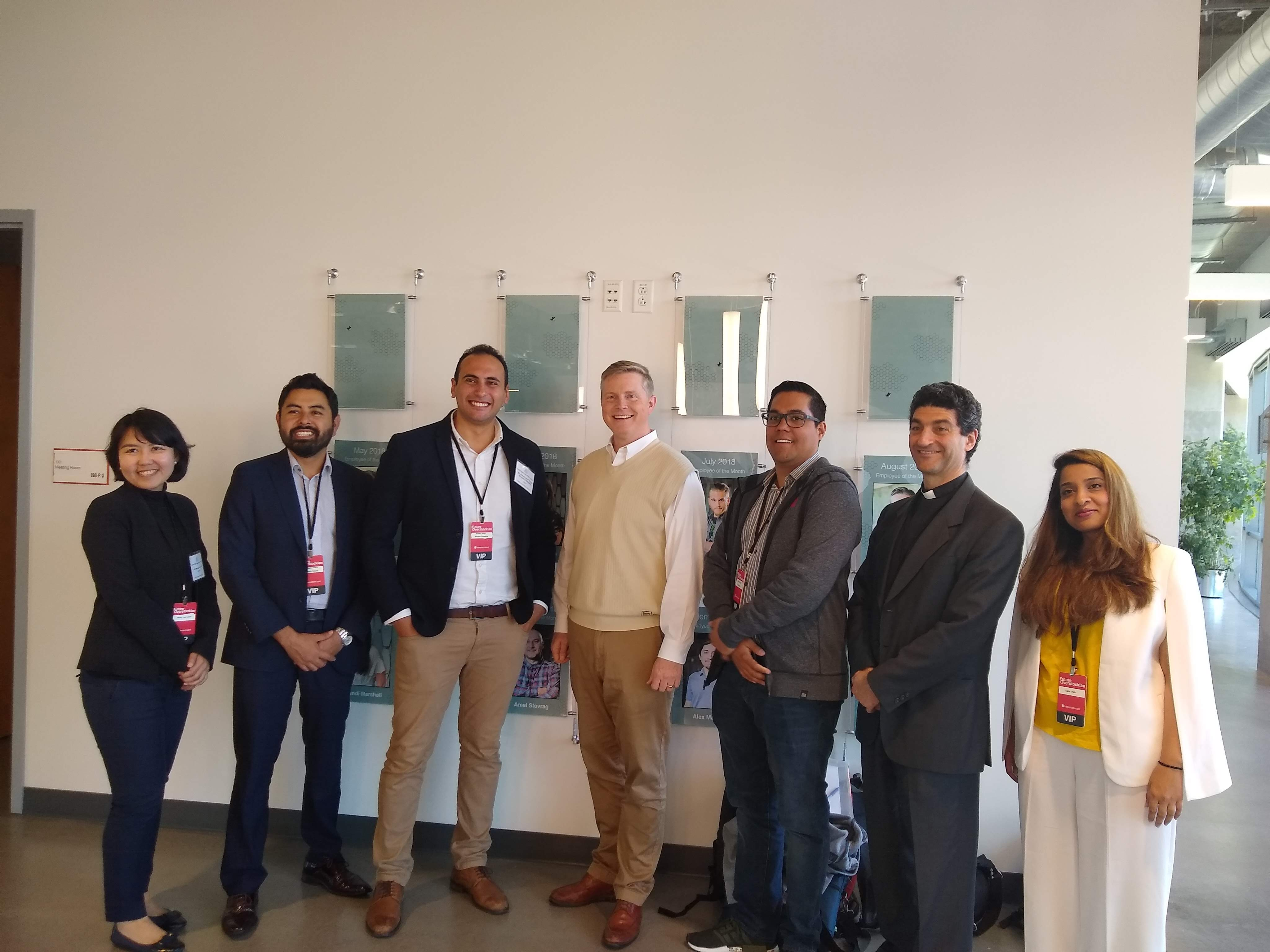Medici Ventures and Overstock Utah Council for Citizen Diplomacy International Visitor Leadership Program