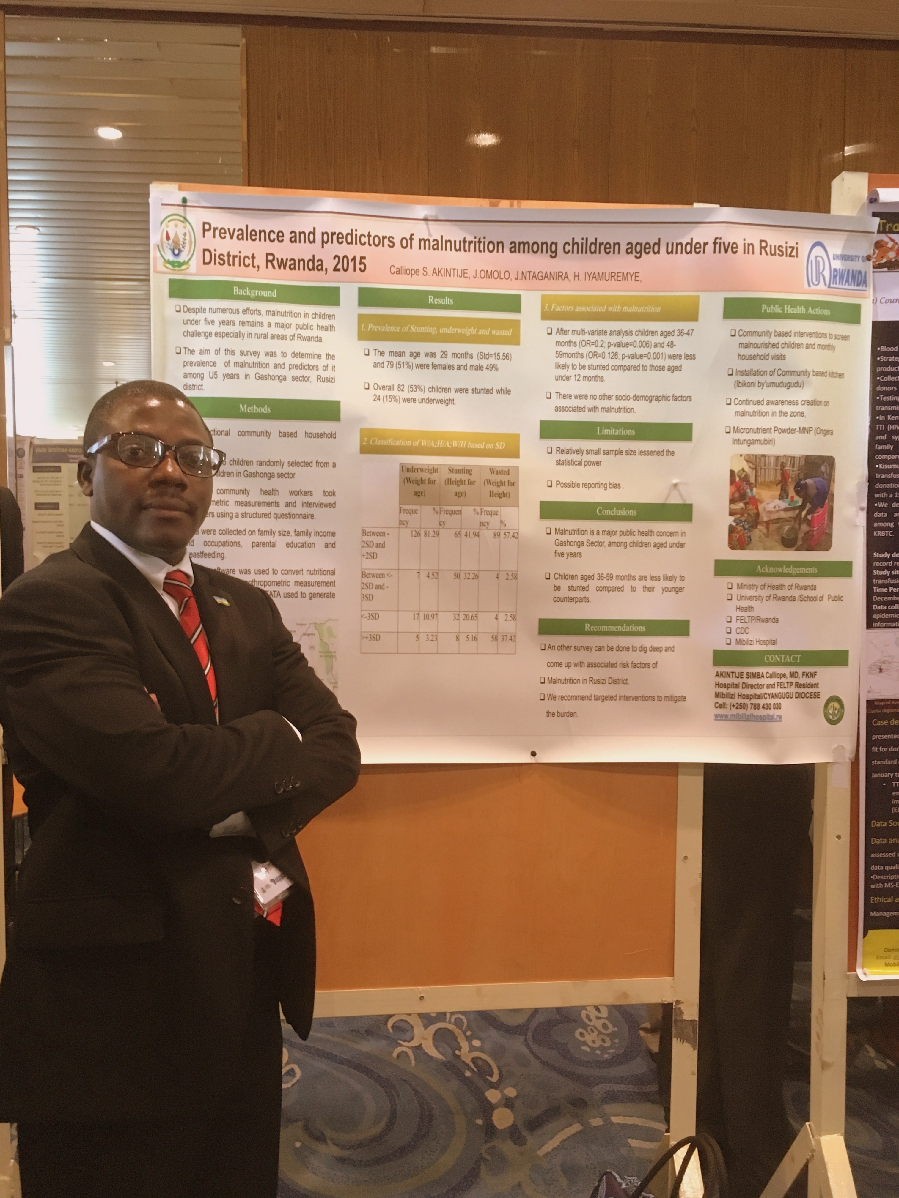 Presenting at an international conference Nigeria supported by CDC Atlanta Calliope Akintije Simba