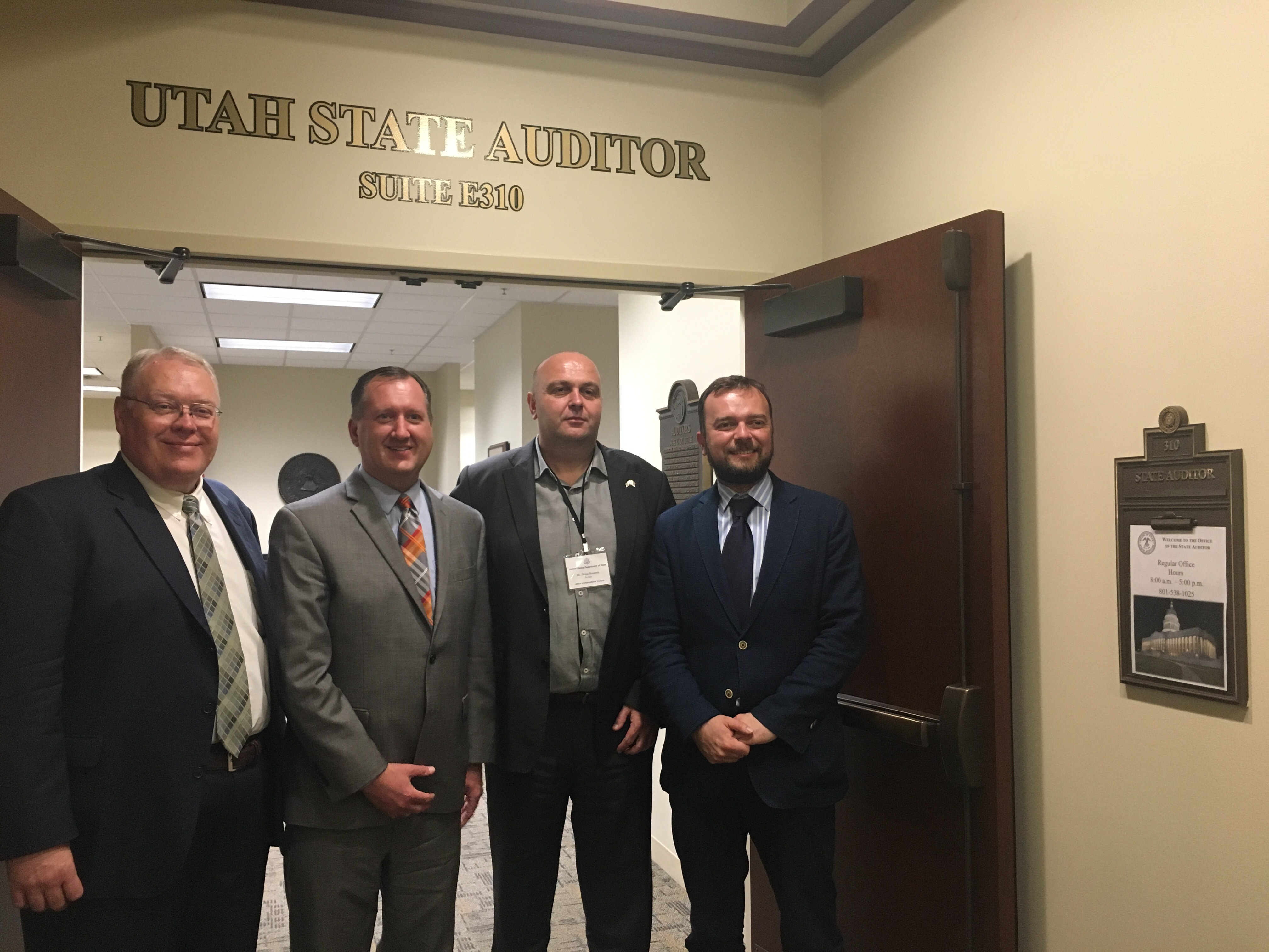 Utah State Auditor Serbia May 2018 Photo by TR