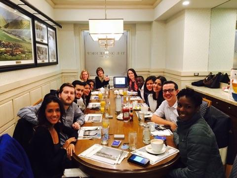 YLAI 2017 fellows at dinner photo by Natalie Utah Council for Citizen Diplomacy
